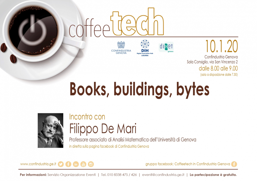 123° CoffeeTech - Books, buildings, bytes